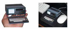 Executive 64 Commodore SX64 Papercraft