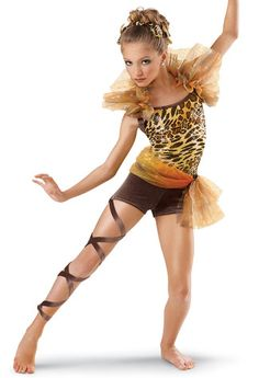 Funky Sequin Feather Unitard; Weissman Costumes  This>
