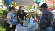 Fresh squeezed lemonade - stay cool Haliburton! Fresh Squeezed Lemonade, Stay Cool, Arts And Crafts, Table Decorations, Cool Stuff, Home Decor, Gift Crafts, Interior Design, Art And Craft