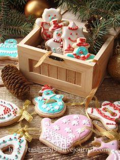 Имбирное печенье с белковой глазурью (айсингом). - Дело вкуса