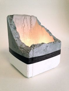 Hey, I found this really awesome Etsy listing at https://www.etsy.com/listing/202978219/concrete-candle-holder-free-shipping-in