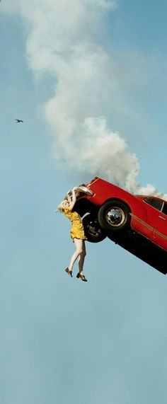 to do list...take the car in to have it looked at... its making a noise. | Photo Series by Alex Prager - My Modern Metropolis
