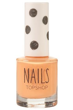 I really like orange nails for summer. NAILS IN PEACHES AND CREAM