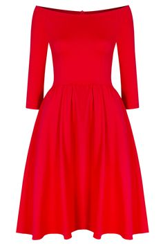 sukienka hiszpanka czerwona
