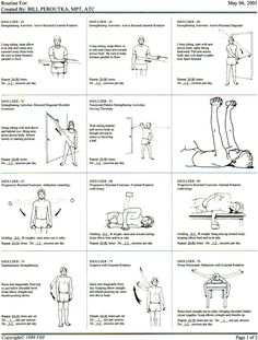 Physical Therapy Exercises Physical Therapy Exercises For Rotator Cuff Shoulder Rehab Exercises, Shoulder Workout, Frozen Shoulder Exercises, Shoulder Tendonitis Exercises, Scapula Exercises, Shoulder Stretches, Physical Therapy Exercises, Physical Therapist, Physical Therapy Student