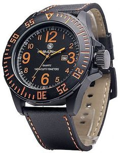 Smith and Wesson Tactical EGO Collection Water Resistant Watch