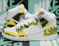 "0caeea0d21ed Nike SB Dunk High ""De La Soul"" Superga Sneakers"