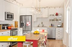 Our kitchen! Kitchen Before & After: A Beautiful, Budget-and-Kid-Friendly Renovation Reader Kitchen Remodel | The Kitchn