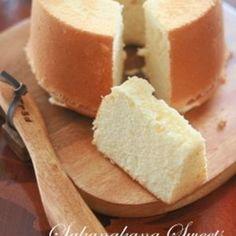 ヘルシー!豆腐でシフォン+by+家庭菓子研究家Yukiさん+|+レシピブログ+-+料理ブログのレシピ満載! 水も油も使わない!豆腐を使ったヘルシーシフォン。豆腐は水切りも不要です。