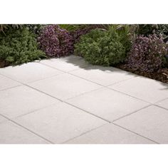Elegant Shop White Square Patio Stone (Common: 20 In X 20 In;