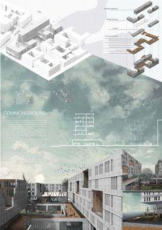 9999 Đồ án đỉnh cao của sinh viên kiến trúc nước ngoài (cập nhật hàng tuần) Landscape Architecture Model, Architecture Concept Diagram, Architecture Concept Drawings, Architecture Sketchbook, Architecture Panel, Architecture Visualization, Architecture Posters, Architecture Layout, Architecture Diagrams