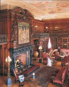 Library at the Biltmore.