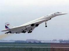 WORLDS FASTEST PASSENGER AIRCRAFT Mach 2.35 Russian Tu 144LL