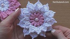 Crochet ring& earrings by Oana - YouTube