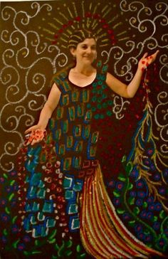 gustav klimt projects for kids | Create A Klimt Masterpiece - A Kid's Art Project on Patterns!