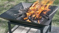 This portable fire bowl metalworking project is easy to build with just a few tools, a welder and steel stock that's available at most hardware stores. We'll show you how to create a wooden assembly jig from 2x4 scraps that will greatly simplify construction.