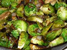 Cheap Bastids Roasted Brussels Sprouts!  They're not for school lunch anymore.  And they're really, really tasty too!
