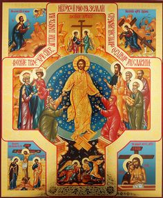Image result for Orthodox Icons of Resurrection