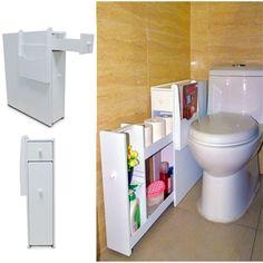 Organized Life White Bathroom Storage Organizer - Walmart.com - Walmart.com Cube Storage, Hidden Storage, Closet Storage, Storage Spaces, Storage Units, Pantry Storage, Storage Containers, Tissue Paper Storage, Ribbon Storage