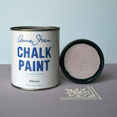 Thinking about painting the cabinets in mine and Ashlyn's bathroom in Paris grey chalk paint! Chalk Paint Brands, Chalk Paint Colors, Annie Sloan Paint Colors, Annie Sloan Chalk Paint, Colour Pallette, Colour Schemes, Provence Chalk Paint, Napoleonic Blue, Greek Blue