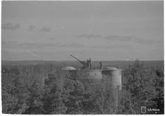 Finnish Flak tower in Rajamäki