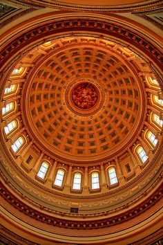 Wisconsin State Capitol Dome, Madison, Wisconsin