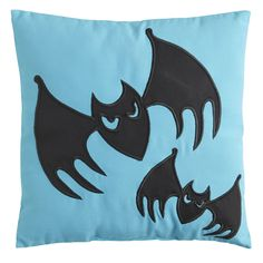 Bat Pillow - Teal | Pier 1 Imports