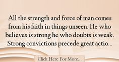 James Freeman Clarke Quotes About Faith - 19399