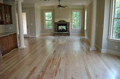 Light wood floors