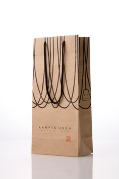 5/5 - 'Kanpyo Udon' – The whole packaging set (designed by Nosigner) #japanese #package #design