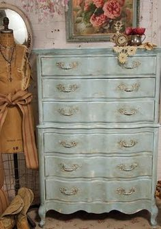South Shore Decorating Blog: Annie Sloan Chalk Paint Project Reveal and French Room Photos