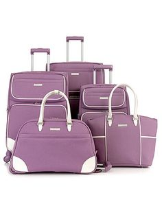 803d0fb1e6335 Nine West Rendezvous Luggage, Only at Macy s Luggage Collections - Macy s