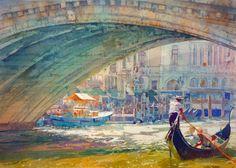 Geoffrey Wynne Acuarelas - Watercolours