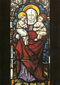 Sainte Anne trinitaire. Kalchreuth, St.Andreas Kirche.