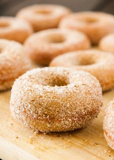 Baked Pumpkin Donuts coated in cinnamon sugar! This easy homemade recipe makes 1 dozen soft, fluffy donuts that are ready in 30 minutes! One of the BEST Fall Pumpkin dessert recipes! Sugar Pumpkin, Baked Pumpkin, Pumpkin Dessert, Pumpkin Recipes, Pumpkin Bread, Baked Donuts, Dozen Donuts, Doughnuts, Churro Donuts