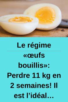 Le régime «œufs bouillis»: Perdre 11 kg en 2 semaines! Il est l'idéal… #régime #œufs #bouillis Calories, Diet, Breakfast, Parents, Food, Sport, Boiled Egg Diet, Morning Coffee, Dads