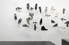 retail store, shoes display