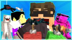 Minecraft SkyDoesMinecraft Minecraft - WOULD YOU RATHER 5! (EATING SPIDE...