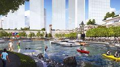 Aquatic playground to transform Australia's Perth foreshore