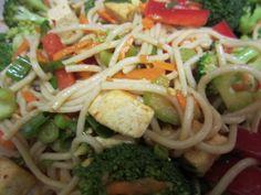 Cold Szechuan noodle salad - Vegansprout review