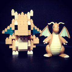 Le #Dracolosse de #nano-#briques n'est pas si petit que ça... #Pokemon x #Nanoblock #Pokémon #Japon #set #jeu #kit #Pokemon20 #Pokémon20 #PocketMonsters #brique #brick #bricks #construction #jouet #toy #Kawada #Dragonite #Kairyu @nanoblock_france