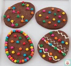 COOKIES DE CHOCOLATE DECORADOS