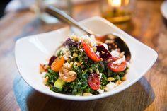 MB Post Restaurant, Manhattan Beach Post, Gluten Free, American, Organic, Healthy Eating, South Bay, Kale Salad