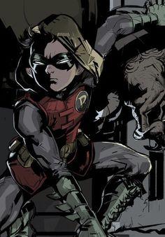 Damian Wayne, Robin and the Son of Batman Nightwing, Batwoman, Robin Dc, Robin Tim Drake, Batman Robin, Gotham Batman, Batman Art, Damian Wayne, Cute Batman