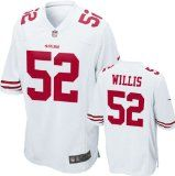 Patrick Willis Jersey: Away White Game Replica #52 Nike San Francisco 49ers Jersey