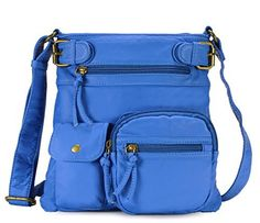 New Trending Purses: Scarleton Accent Top Belt Crossbody Bag H183355 - Seaport Blue. Scarleton Accent Top Belt Crossbody Bag H183355 – Seaport Blue  Special Offer: $19.99  188 Reviews The Scarleton Accent Top Belt Crossbody Bag is a modern and chic purse at a price anyone would love. This spacious shoulder bag has lots of organized storage, more than enough room...