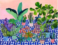 Laura Garcia Serventi on The Art Folk - affordable plant illustrations