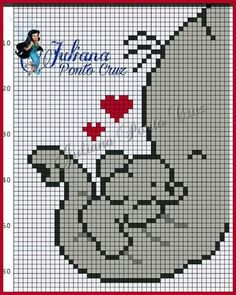 Baby Elephant Blowing Hearts – (Graph AND Row-by-Row Written Crochet Instructions) – 03 Cross Stitch Cards, Cross Stitch Baby, Cross Stitch Animals, Cross Stitching, Cross Stitch Patterns, Pixel Crochet, C2c Crochet, Crochet Blanket Patterns, Baby Blanket Crochet