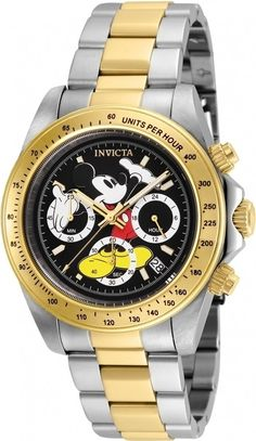 d4c3c8b335a Invicta Disney Limited Edition Black Dial Men s Watch 25194. Stainless Steel  ...