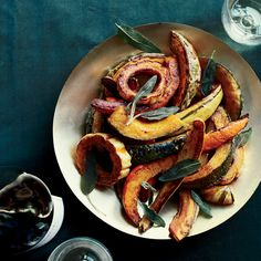 Roasted Winter Squash with Vanilla Butter   Food & Wine ; Fragrant vanilla-bean butter does double duty here—it both flavors the squash and softens the skin during roasting. The greater the variety of winter squash you use, the more interesting the dish will be.